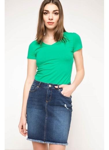 DeFacto Basic Body Yeşil